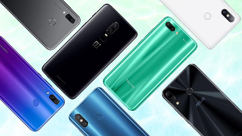 Top điện thoại thông minh giá rẻ tốt nhất 2018