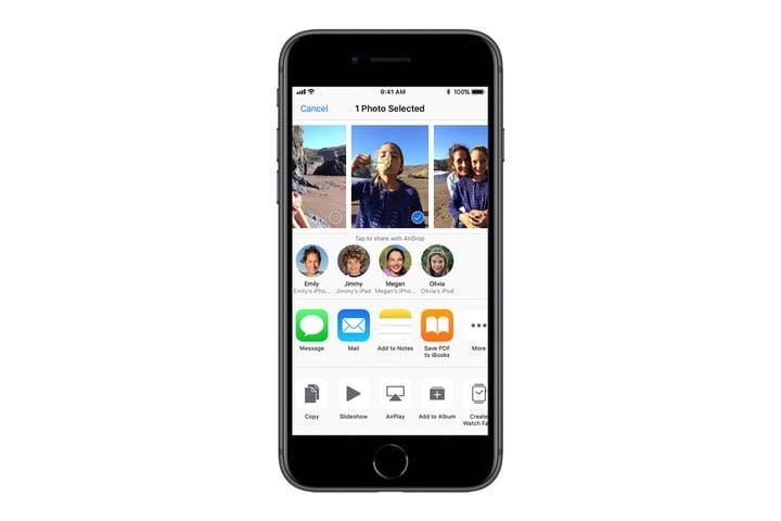 SỬ DỤNG AIRDROP trên iOS
