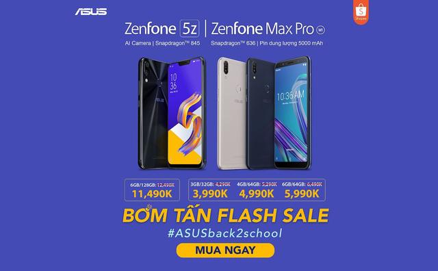 Bom tấn Flash Sale – Săn Asus Zenfone giá chưa đến 4 triệu trên Shopee