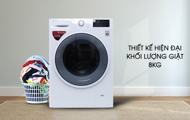 Máy giặt cửa trên LG fc1408s4w2