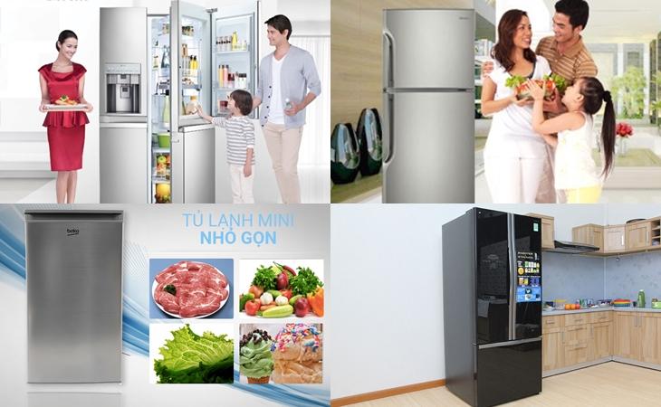 Top Tủ lạnh Sharp bán chạy 2019