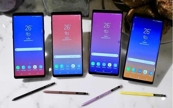 Những điều cần biết khi mua điện thoại Samsung Galaxy Note9
