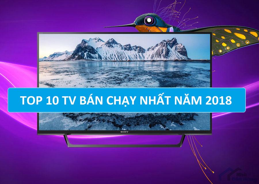 Top 10 Tivi bán chạy nhất hiện nay