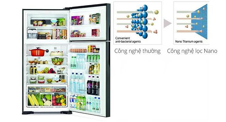 Tủ Lạnh kháng khuẩn & khử mùi