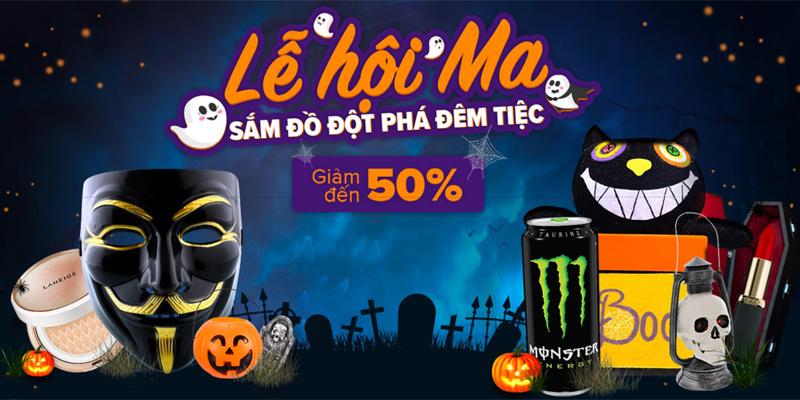 Lễ hội mua sắm Ma - Đại tiệc Halloween của Lazada có gì hot?