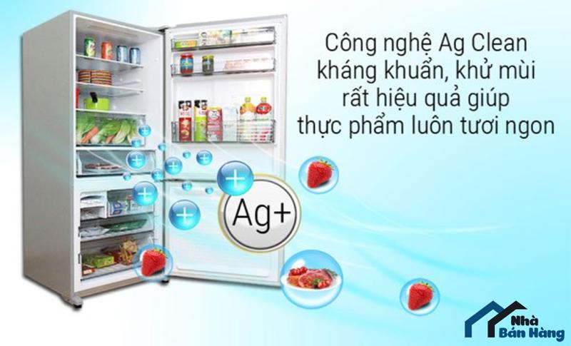 Khả năng kháng khuẩn tủ lạnh Panasonic