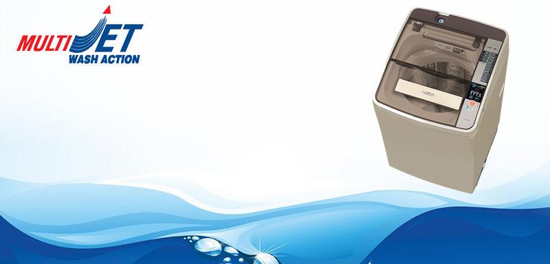 Công nghệ Multi Jet máy giặt Aqua