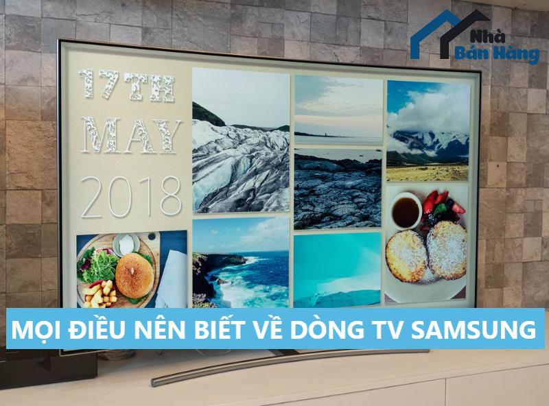 Những điều cần biết về dòng Tivi Samsung