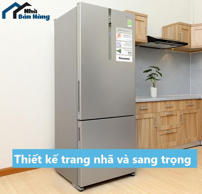 Tủ lạnh Panasonic có thiết kế trang nhã sang trọng