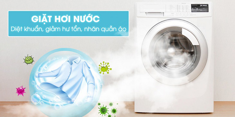 Chế độ giặt hơi nước