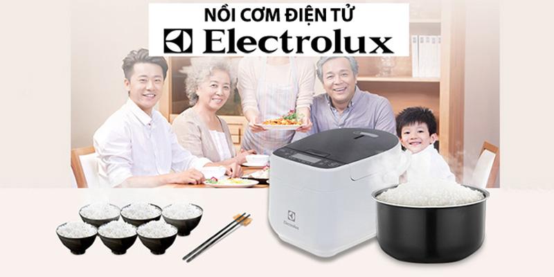 Nồi cơm điện Electrolux nấu được nhiều cơm không?
