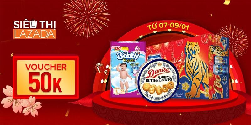 Chính thức khai trương siêu thị Lazada Supermarket điểm mua sắm hàng tiêu dùng giá tốt cho người Việt