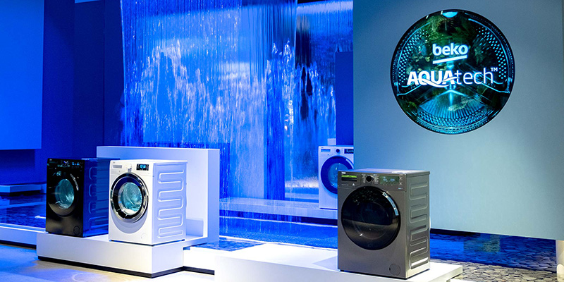 Công nghệ sóng nước  Aquawave Teach mang lại hiệu quả giặt sạch tối ưu