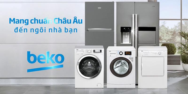 Beko là thương hiệu nổi tiếng mang chuẩn châu âu