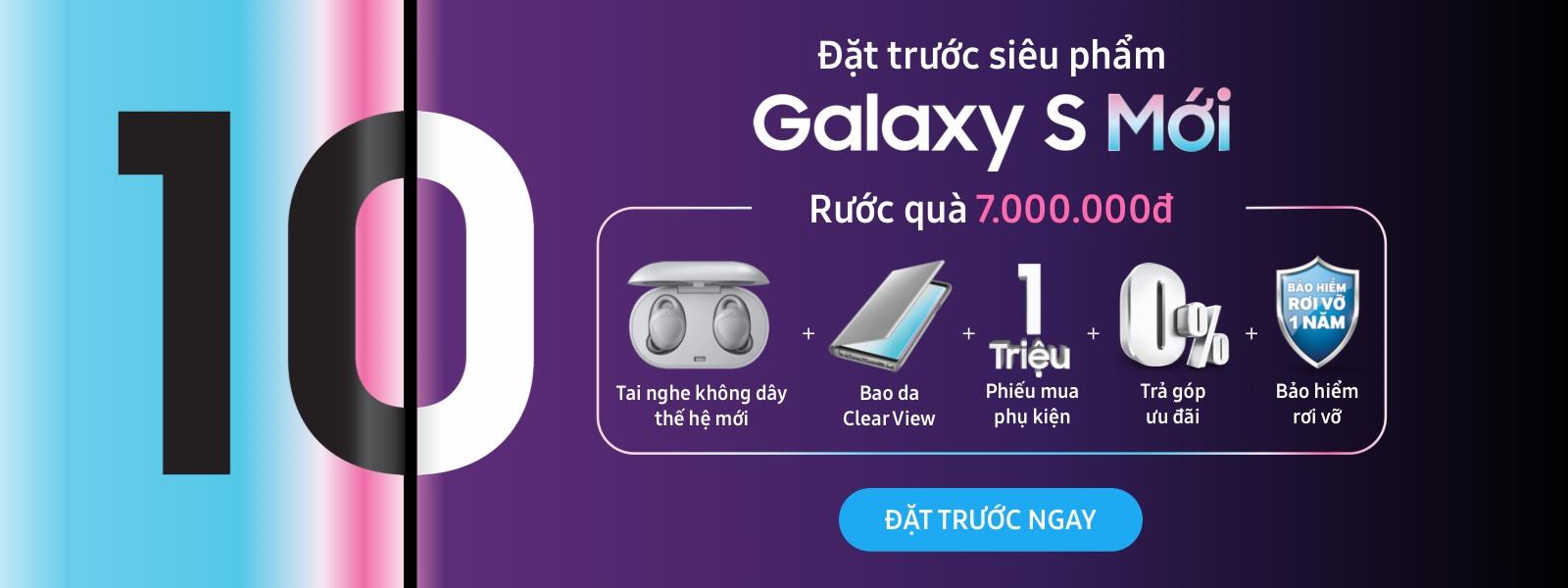 Đặt trước Samsung Galaxy S10