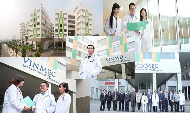 Đội ngũ y bác sỹ đầu ngành tại bệnh viện Vinmec