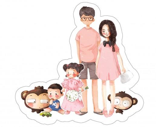 Mẹ, Em Bé Và Bố (Bìa Cứng - Tặng Ngẫu Nhiên Chữ Kí Tác Giả Gào)