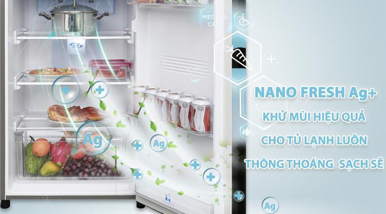Nano Fresh Ag+ - Tủ lạnh Aqua Inverter 281 lít AQR-I287BN PS