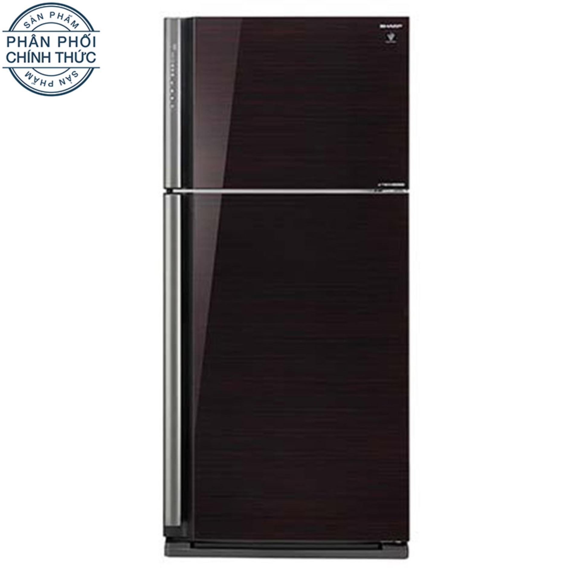 Tủ lạnh Sharp Inverter 627 lít SJ-XP630PG-BK
