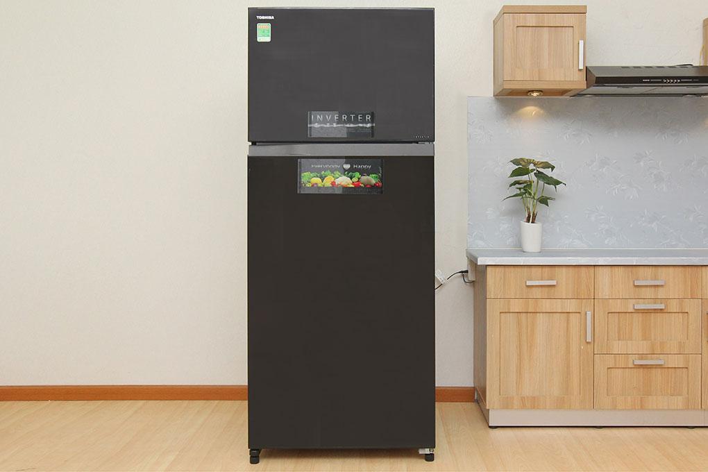 Tủ lạnh Toshiba Inverter 505 lít GR-HG55VDZ GG