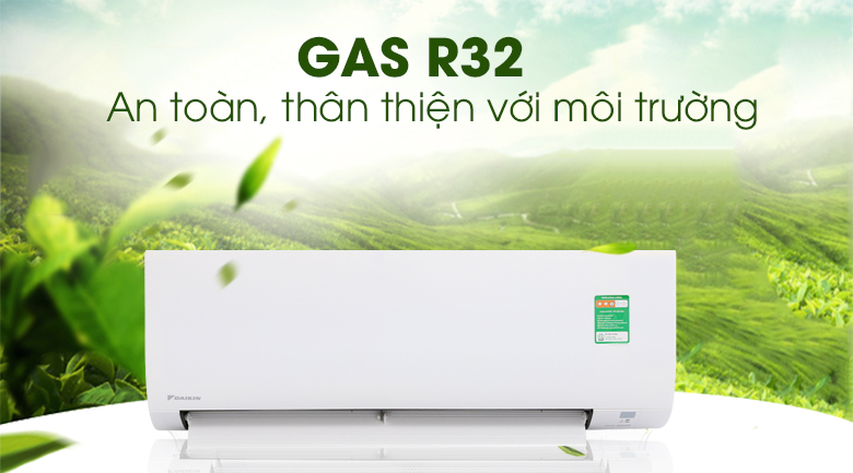 Gas R32 - Máy lạnh Daikin 1.5 HP FTC35NV1V