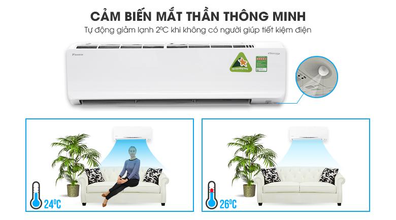 Intelligent Eye - Máy lạnh Daikin Inverter 2 HP FTKC50TVMV