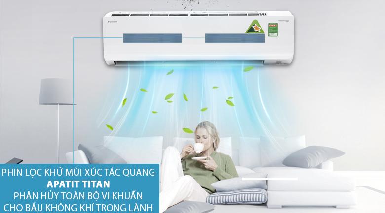 Apatit Titan - Máy lạnh Daikin Inverter 2 HP FTKC50TVMV