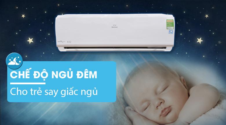 Ngủ đêm Eco - Máy lạnh Electrolux Inverter 1 HP ESV09CRO-A1