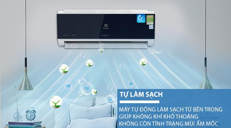 Tự động làm sạch - Máy lạnh Electrolux Inverter 1 HP ESV09CRO-D1