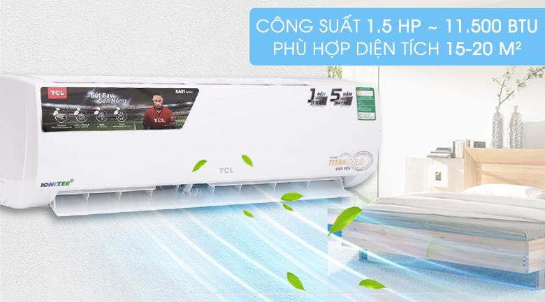 Máy lạnh TCL 1.5 HP TAC-N12CS/XA21