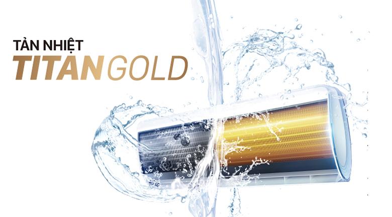 Dàn tản nhiệt Titan Gold - Máy lạnh TCL 1.5 HP TAC-N12CS/XA21
