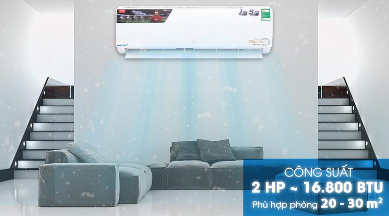 Máy lạnh TCL 2 HP TAC-N18CS/XA21