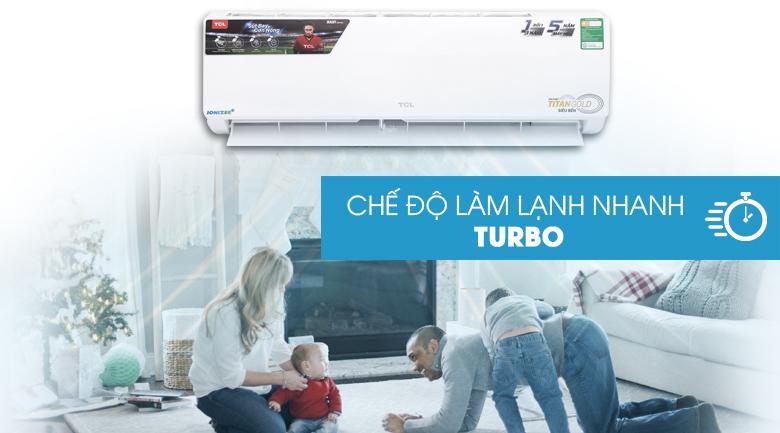 Làm lạnh nhanh - Máy lạnh TCL 2 HP TAC-N18CS/XA21