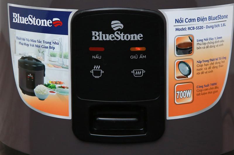 Dễ dùng - Nồi cơm điện Bluestone RCB-5520