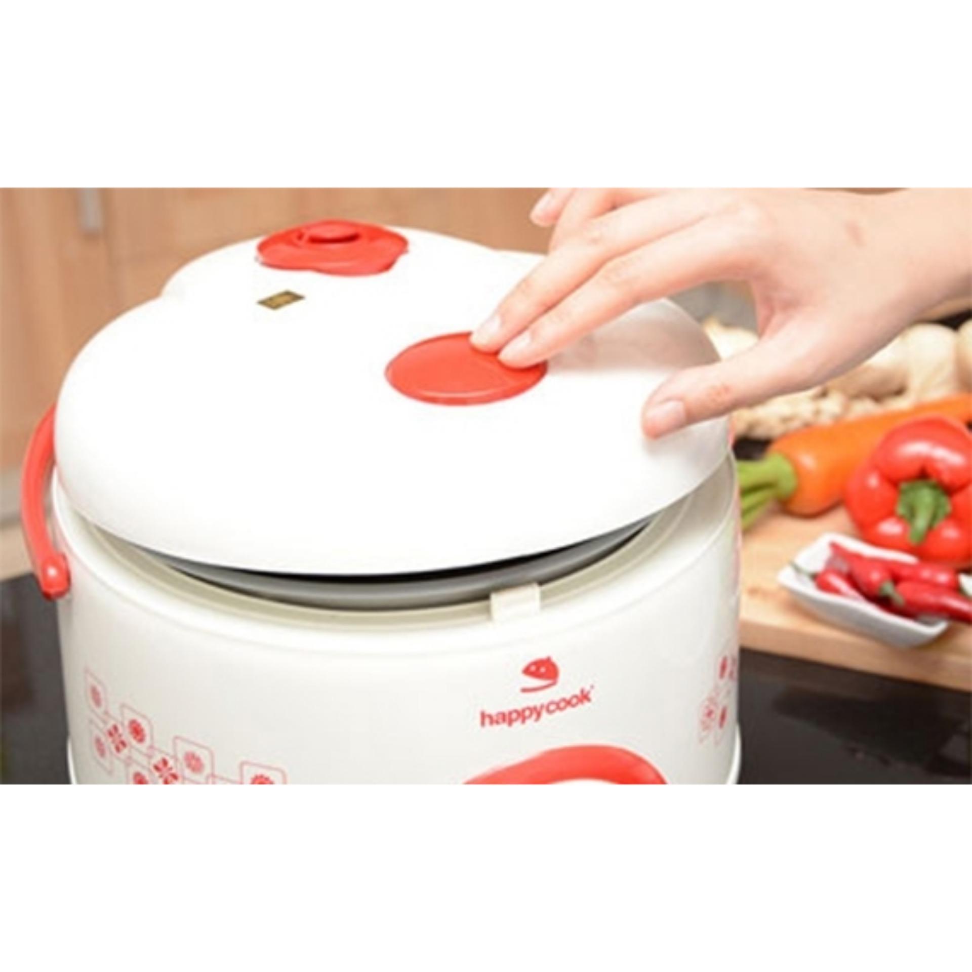 Nồi cơm điện Happycook 1.8 lít HC-180A Đỏ