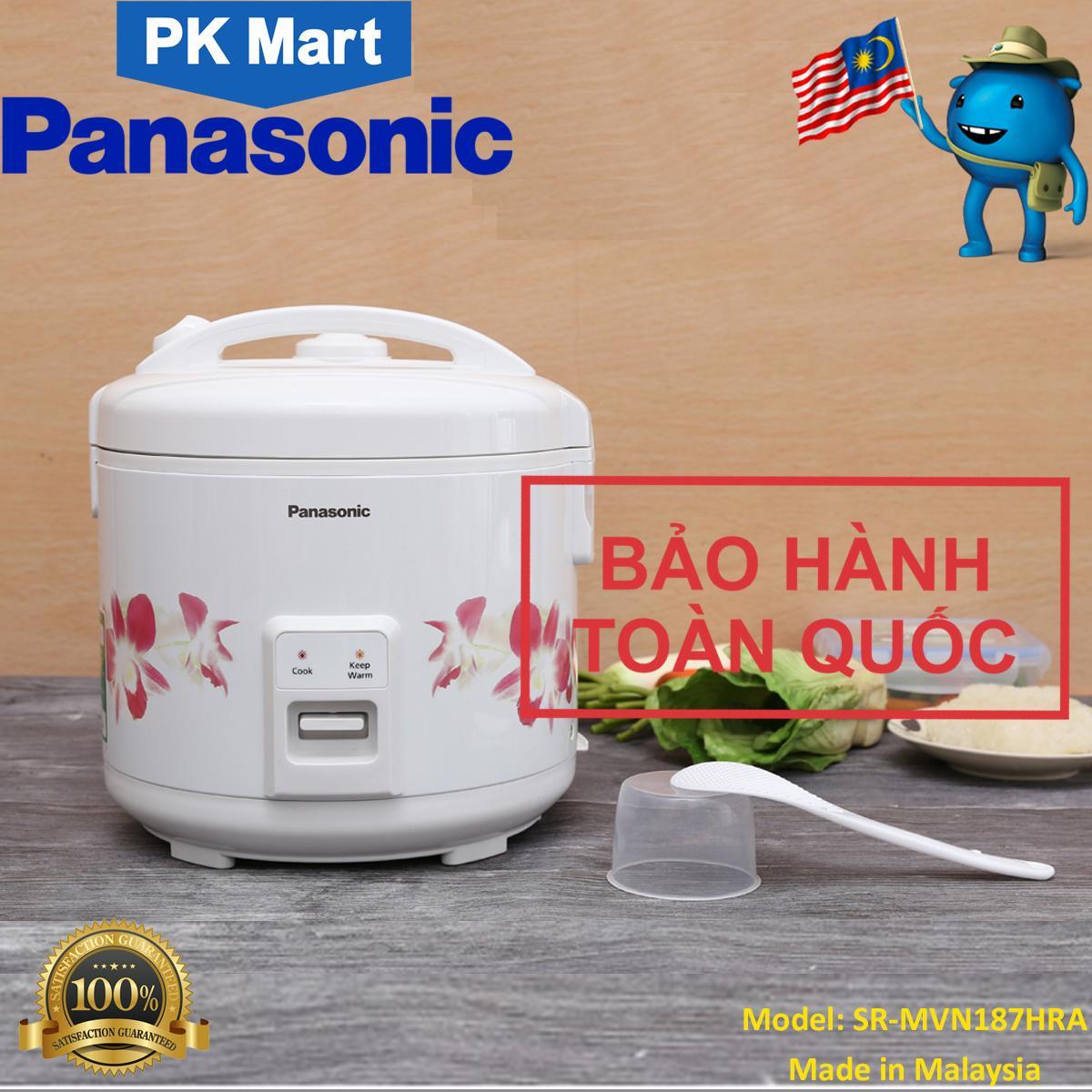 Nồi cơm điện Panasonic 1.8 lít SR-MVN187HRA