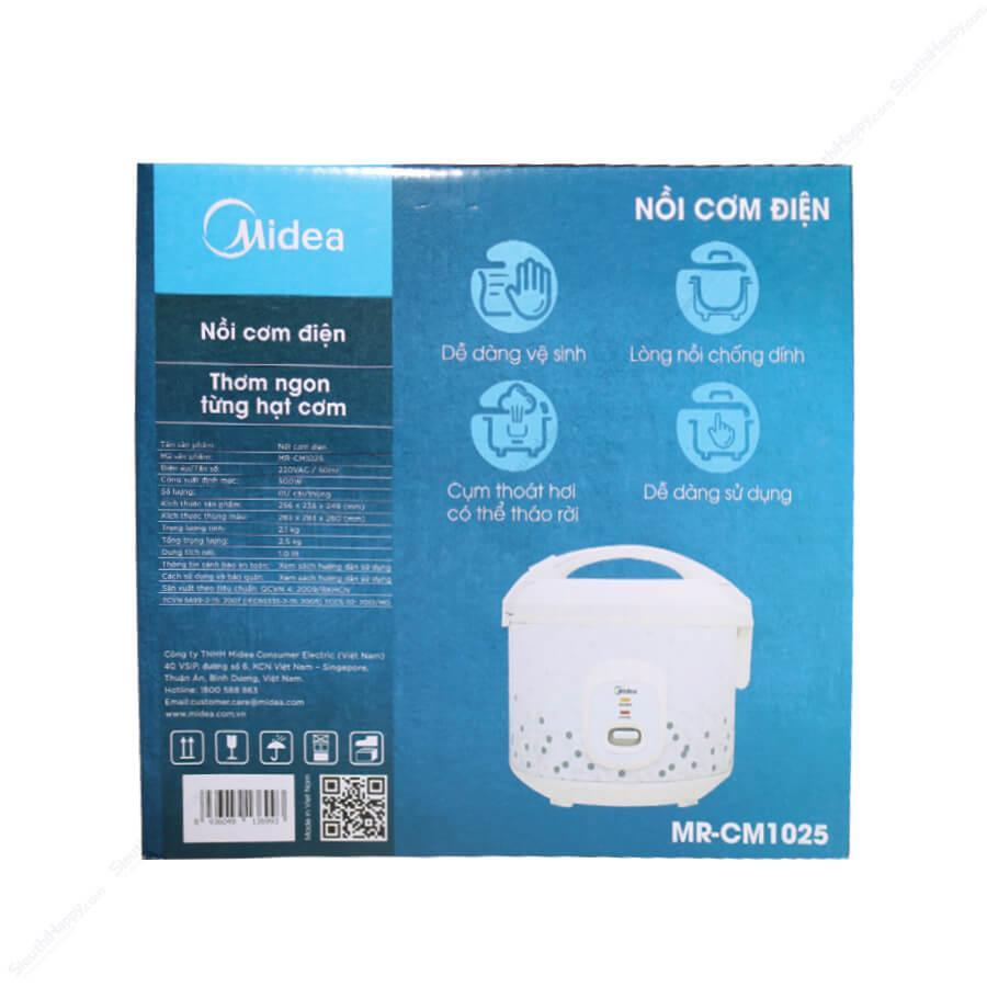 Nồi cơm điện Midea 1 lít MR CM1025