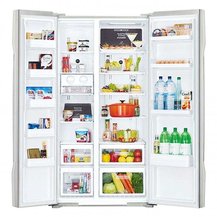 Tủ Lạnh Side By Side Inverter Hitachi R-S700Gpgv2-Gs (589L) - Bạc