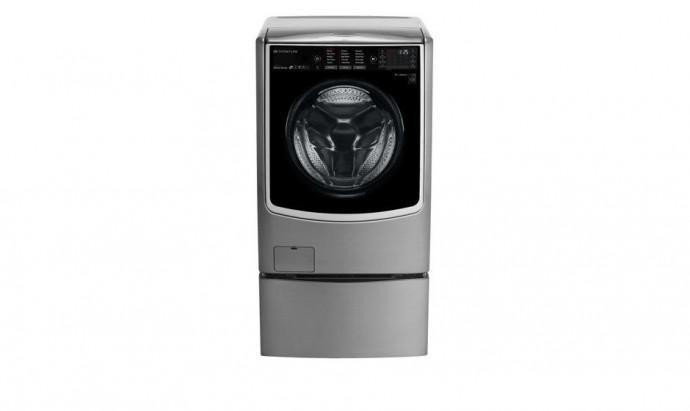 Máy Giặt Đôi Lg Twin Wash Giặt 21Kg+3.5Kg/ Sấy 12Kg