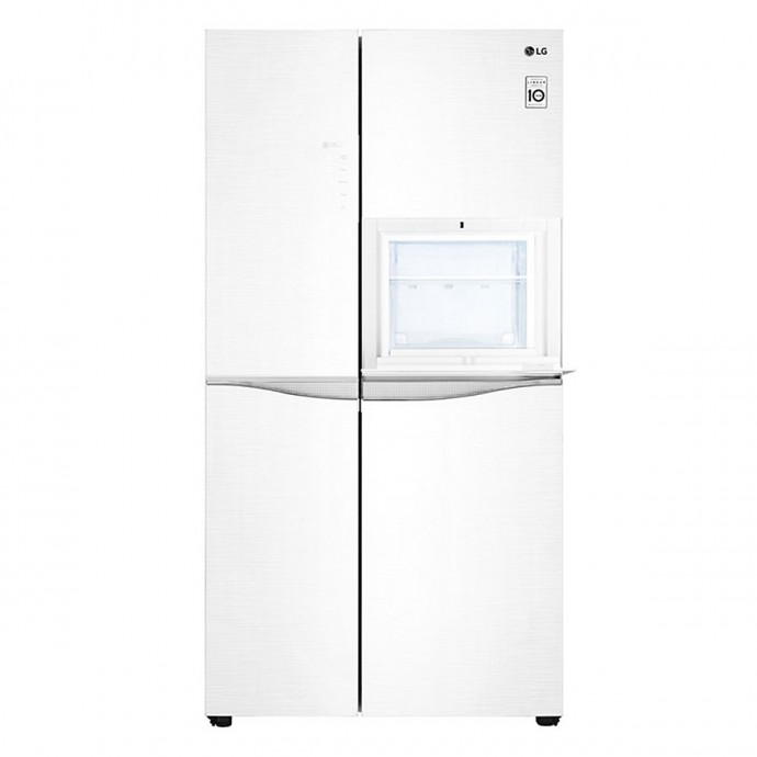 Tủ Lạnh Side By Side Inverter Lg Gr-H247Lgw (618L)