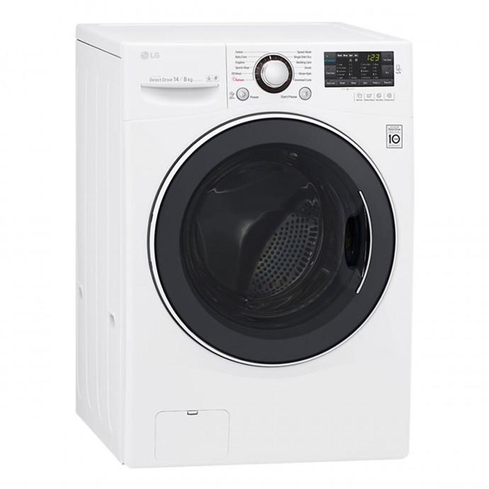 Máy Giặt Sấy Cửa Trước Inverter Lg F2514Dtgw (14Kg)