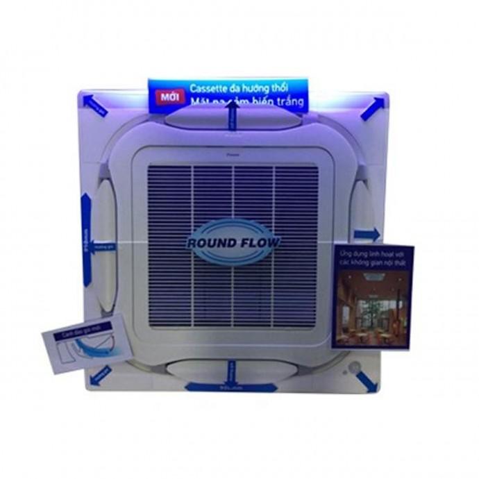 Máy Lạnh Âm Trần Daikin Inverter 2.0Hp Fcfc50Dvm\/Rzfc50Dvm + Brc7F635F9 + Bycq125Eaf