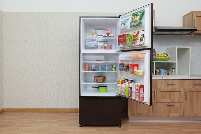 Tủ Lạnh Inverter Mitsubishi Mr-V50Eh-Brw (414L)