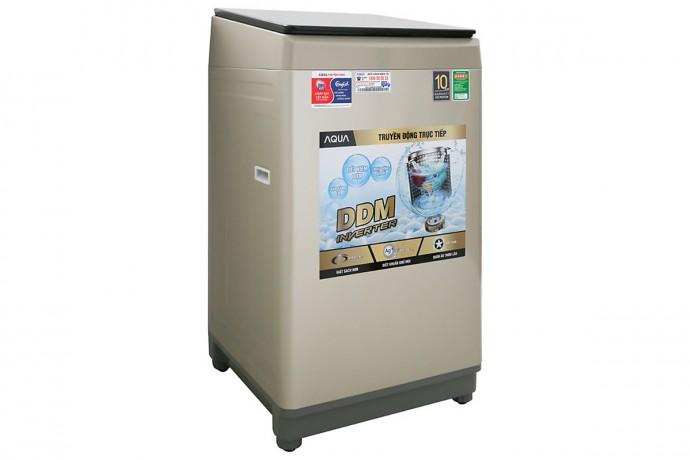 Máy Giặt Aqua Inverter 9 Kg Aqw-Dw90Ct N Mẫu 2019