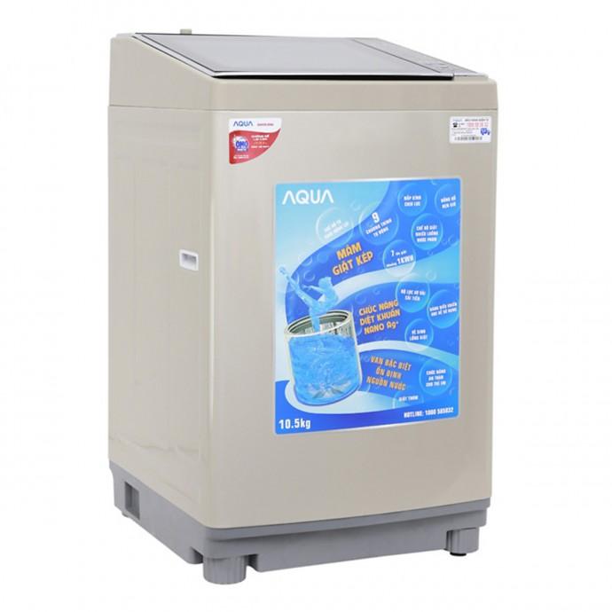 Máy Giặt Cửa Trên Aqua Aqw-Fw105At-N (10.5Kg)