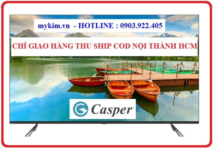 Smart Tivi 4K 55 Inch Điều Khiển Tìm Kiếm Bằng Giọng Nói Casper 55Ug6000