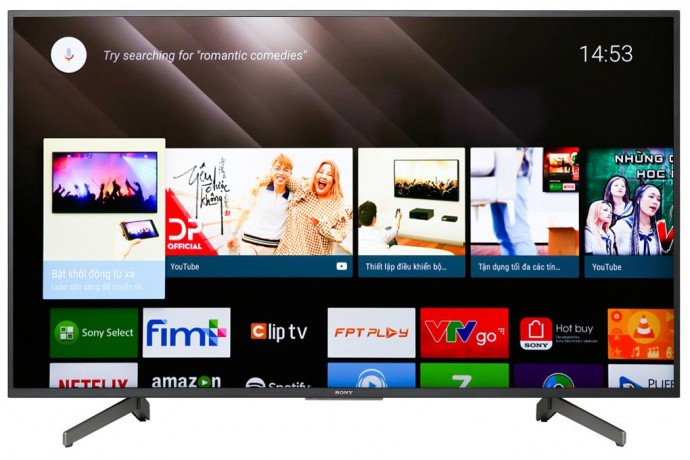 Android Tivi Sony 4K 55 Inch Kd 55X8000G