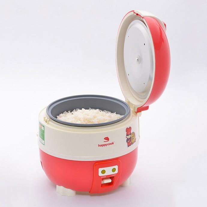 Nồi Cơm Điện Nắp Gài Happy Cook Hc-100 (1.0 Lít)