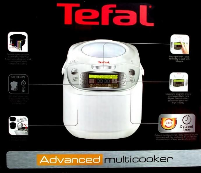 Nồi Nấu Đa Năng Tefal Rk8121 Multicooker 45 In 1